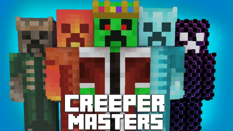 Creeper Masters on the Minecraft Marketplace by Pixelationz Studios