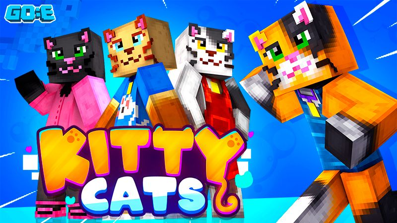 Kitty Cats on the Minecraft Marketplace by GoE-Craft