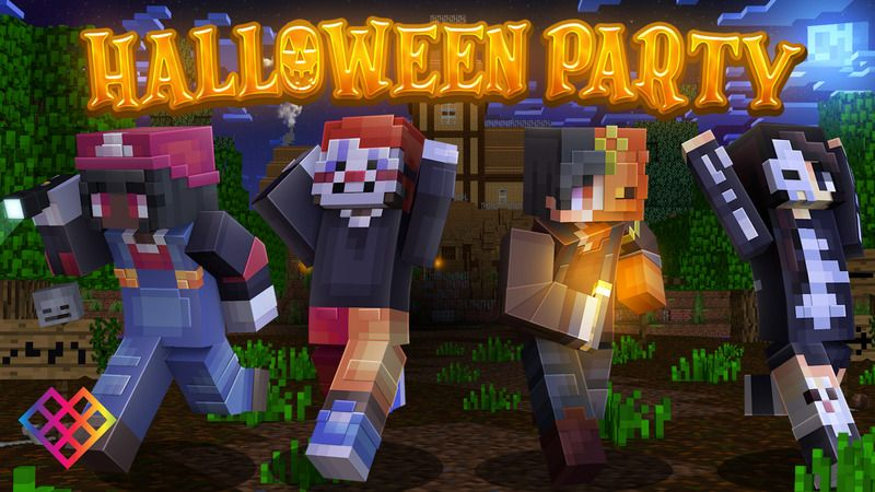 Halloween Party on the Minecraft Marketplace by Rainbow Theory