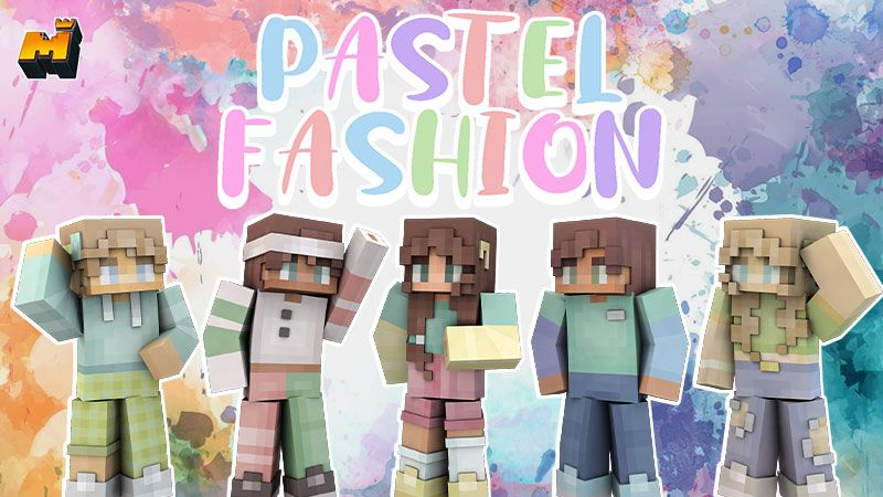 Pastel Fashion on the Minecraft Marketplace by Mineplex