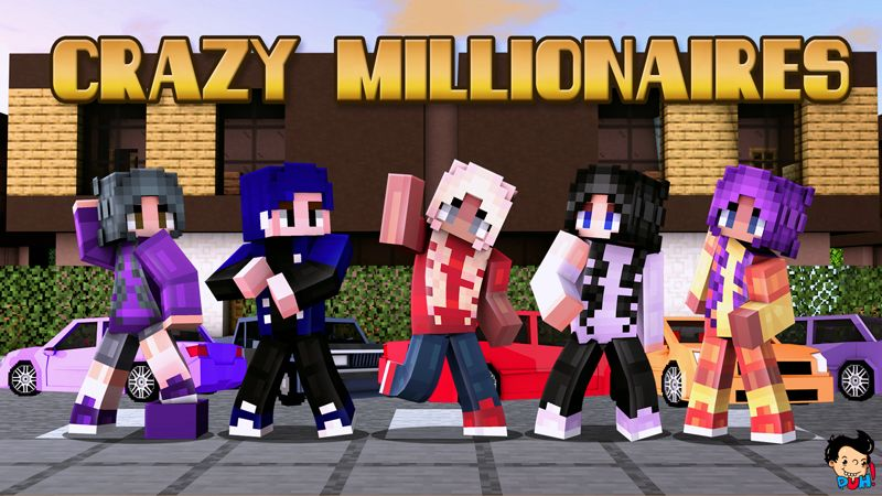 Crazy Millionaires on the Minecraft Marketplace by Duh