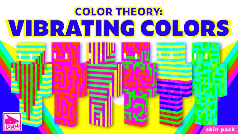 Color Theory Vibrating Colors on the Minecraft Marketplace by Lebleb