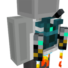 Robot Jetpack on the Minecraft Marketplace by Glowfischdesigns