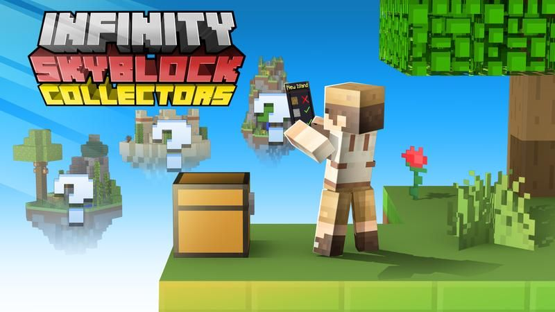 Infinity Skyblock Collectors on the Minecraft Marketplace by Cubed Creations