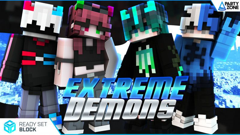 Extreme Demons on the Minecraft Marketplace by Ready, Set, Block!