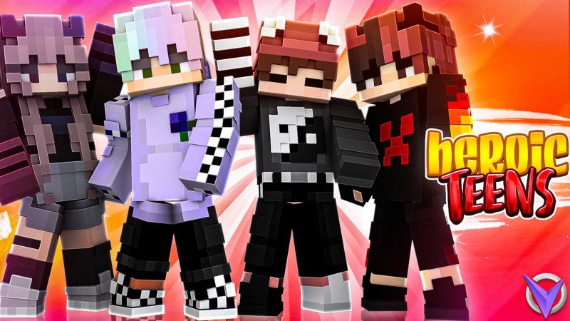 Heroic Teens on the Minecraft Marketplace by Team Visionary