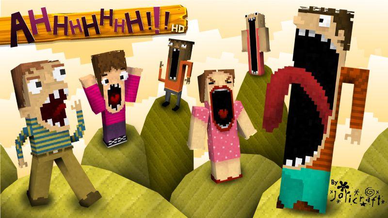 Jolicrafts AHHHHHHH HD on the Minecraft Marketplace by Jolicraft