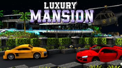 Luxury Mansion on the Minecraft Marketplace by Impulse
