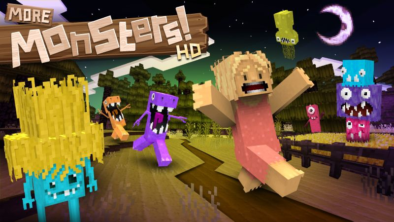 Jolicrafts More Monsters HD on the Minecraft Marketplace by Jolicraft