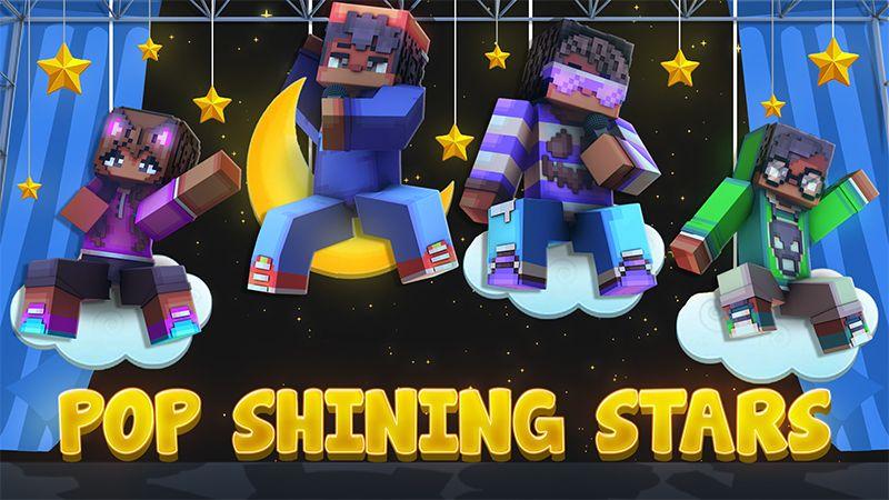 Pop Shining Stars on the Minecraft Marketplace by Dark Lab Creations