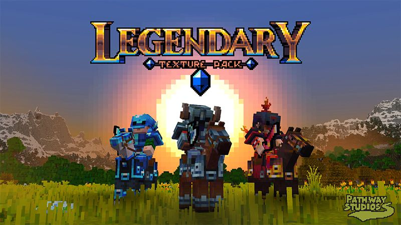 Legendary Texture Pack on the Minecraft Marketplace by Pathway Studios