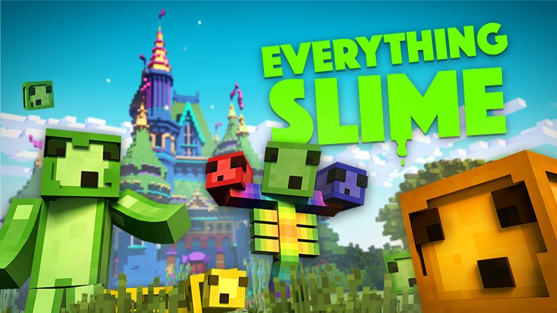 Everything Slime on the Minecraft Marketplace by InPvP