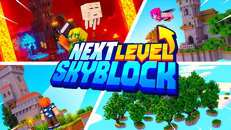 Next Level Skyblock on the Minecraft Marketplace by Mine-North