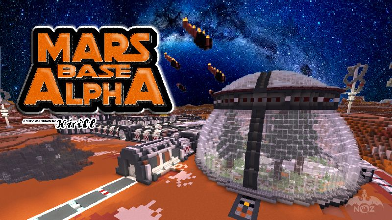 Mars Base Alpha on the Minecraft Marketplace by Dragnoz