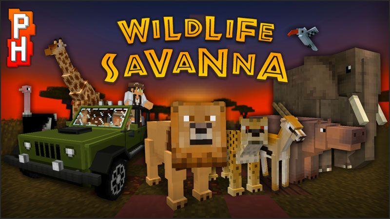 Wildlife Savanna on the Minecraft Marketplace by PixelHeads