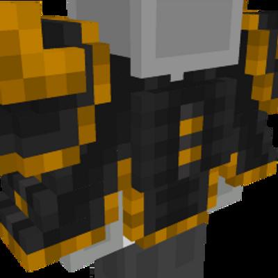 Lightning Samurai on the Minecraft Marketplace by Netherpixel