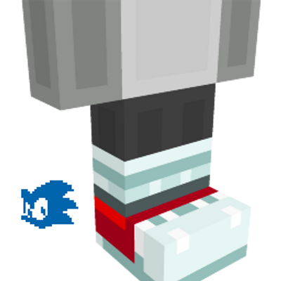 Tails Sneakers on the Minecraft Marketplace by Gamemode One