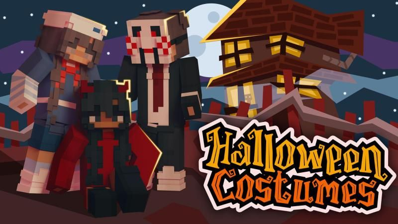 Halloween Costumes on the Minecraft Marketplace by Podcrash