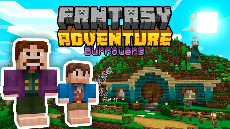 Fantasy Adventure Burrowers on the Minecraft Marketplace by VoxelBlocks