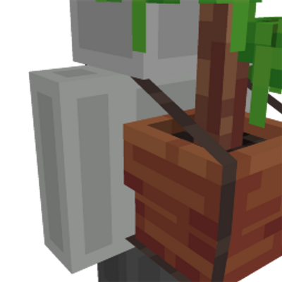 Bonsai Pot on the Minecraft Marketplace by Entity Builds