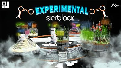 Experimental Skyblock on the Minecraft Marketplace by inPixel