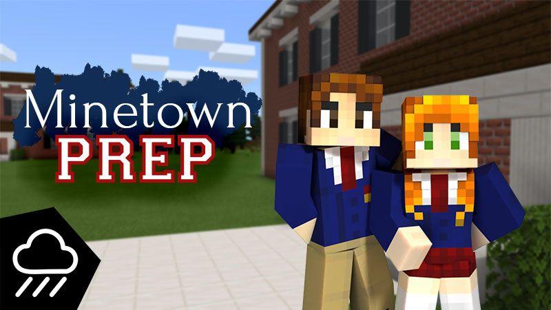 Minetown Prep on the Minecraft Marketplace by Rainstorm Studios