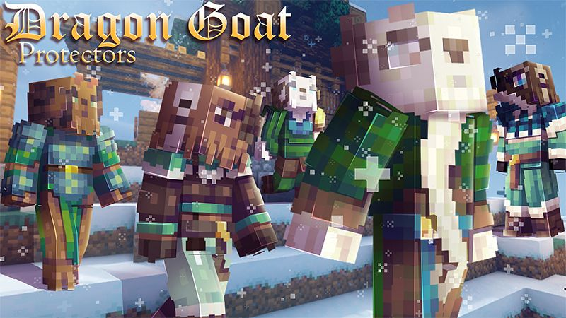 Dragon Goat Protectors on the Minecraft Marketplace by Hourglass Studios
