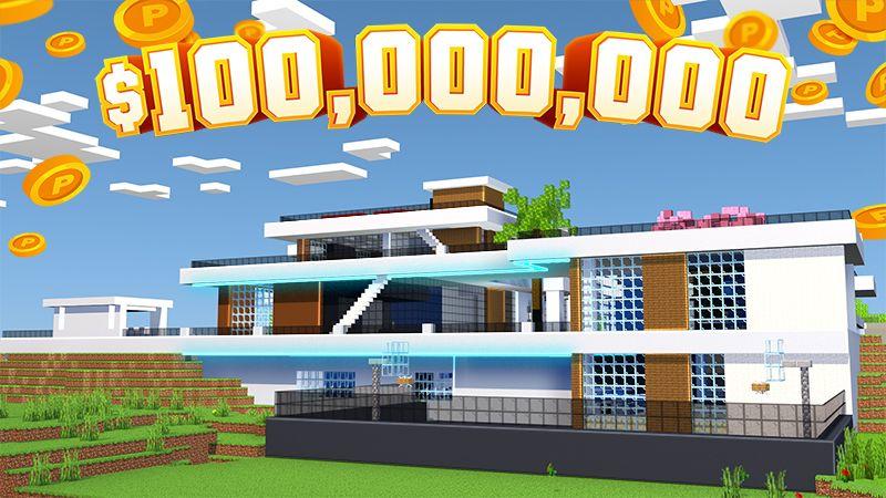 Millionaire Mega Mansion on the Minecraft Marketplace by 4KS Studios
