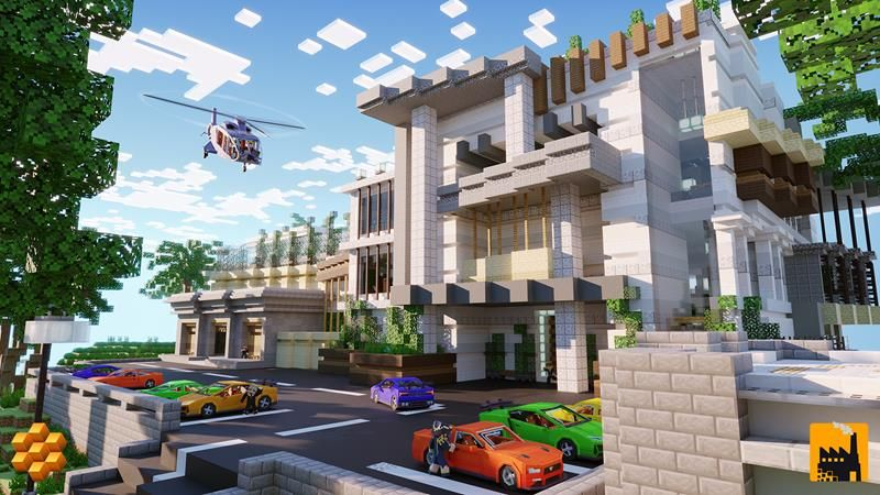 Ultimate Mansion on the Minecraft Marketplace by Block Factory