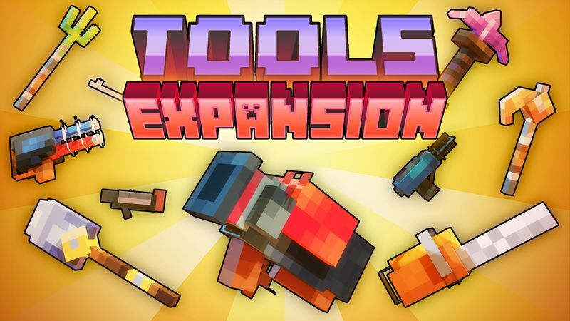 Tools Expansion on the Minecraft Marketplace by Cubed Creations