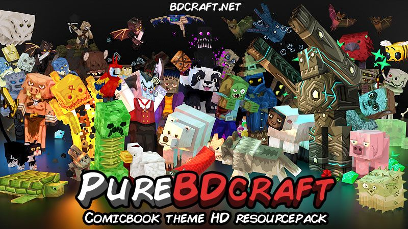 PureBDcraft on the Minecraft Marketplace by BDcraft
