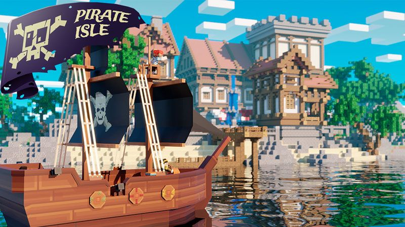 Pirate Isle on the Minecraft Marketplace by Odyssey Builds