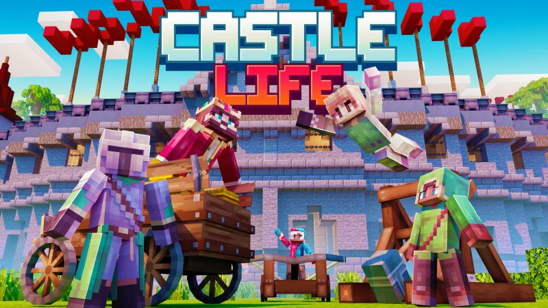 Castle Life on the Minecraft Marketplace by Cubed Creations