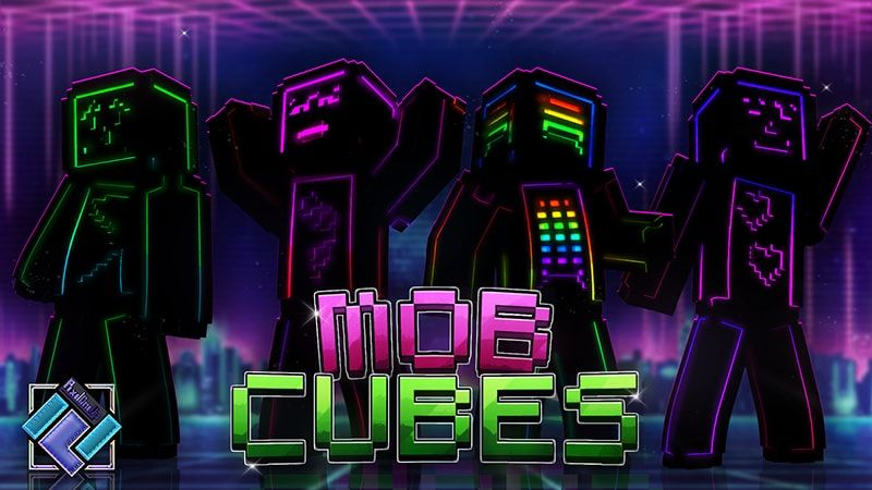 Mob Cubes on the Minecraft Marketplace by PixelOneUp