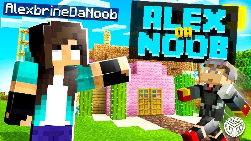 Alex Da Noob  Survival World on the Minecraft Marketplace by Logdotzip
