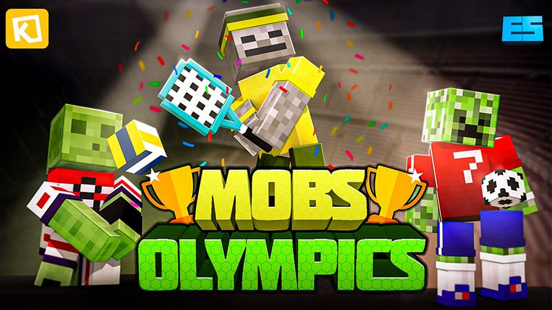 Mobs Olympics on the Minecraft Marketplace by Kuboc Studios
