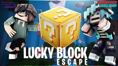 Lucky Block Escape on the Minecraft Marketplace by Pathway Studios