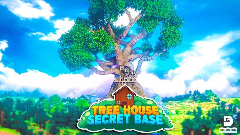 Tree House Secret Base on the Minecraft Marketplace by Gearblocks