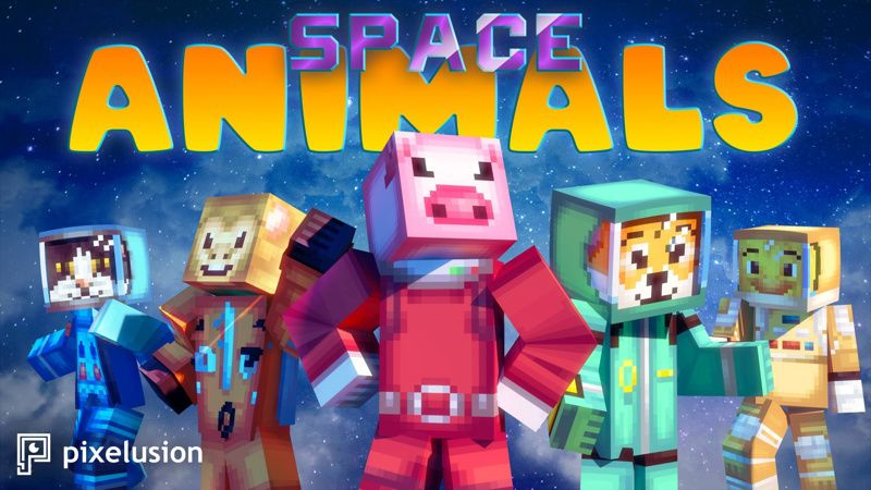 Space Animals on the Minecraft Marketplace by Pixelusion
