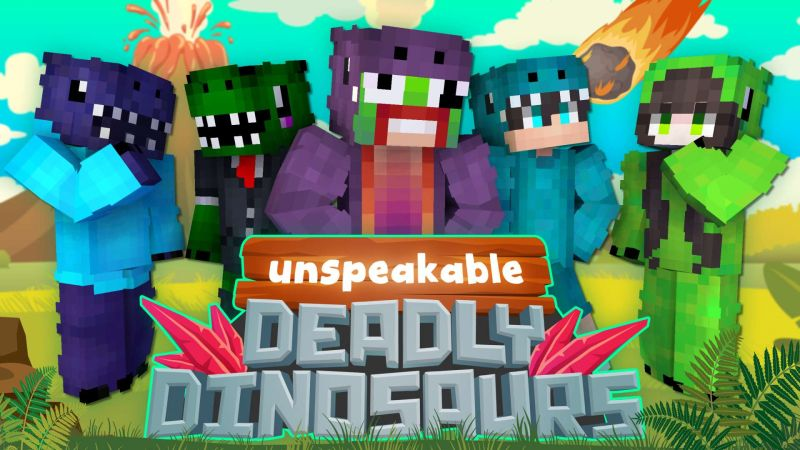 Unspeakable Deadly Dinosaurs on the Minecraft Marketplace by Meatball Inc