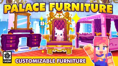 Palace Furniture on the Minecraft Marketplace by Cyclone