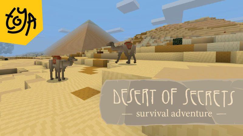 Desert of Secrets on the Minecraft Marketplace by Toya