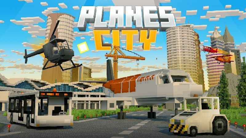 Planes City on the Minecraft Marketplace by Kubo Studios