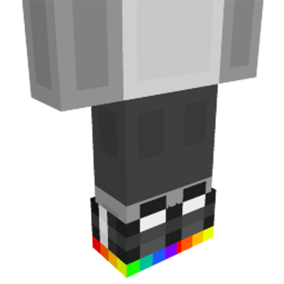 Rainbow Sneakers on the Minecraft Marketplace by 57Digital