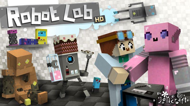 Jolicrafts Robot Lab HD on the Minecraft Marketplace by Jolicraft