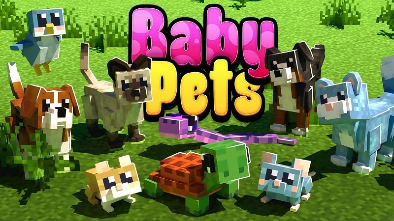 Baby Pets on the Minecraft Marketplace by Nitric Concepts