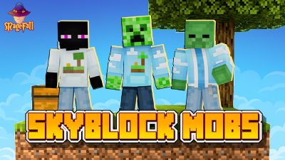 Skyblock Mobs on the Minecraft Marketplace by Magefall