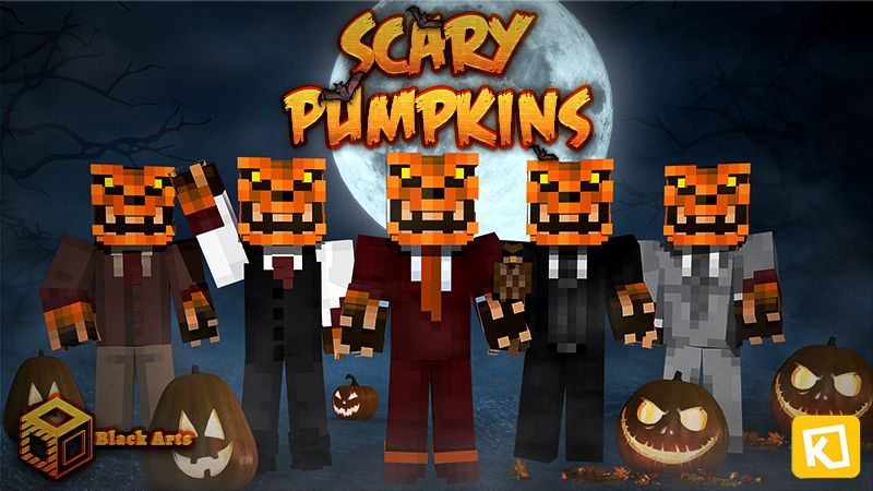 Scary Pumpkins on the Minecraft Marketplace by Black Arts Studios