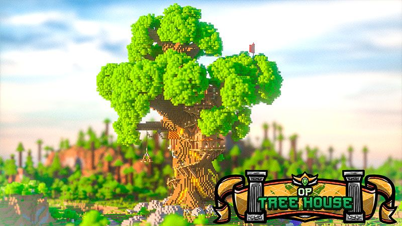 OP Treehouse on the Minecraft Marketplace by Odyssey Builds