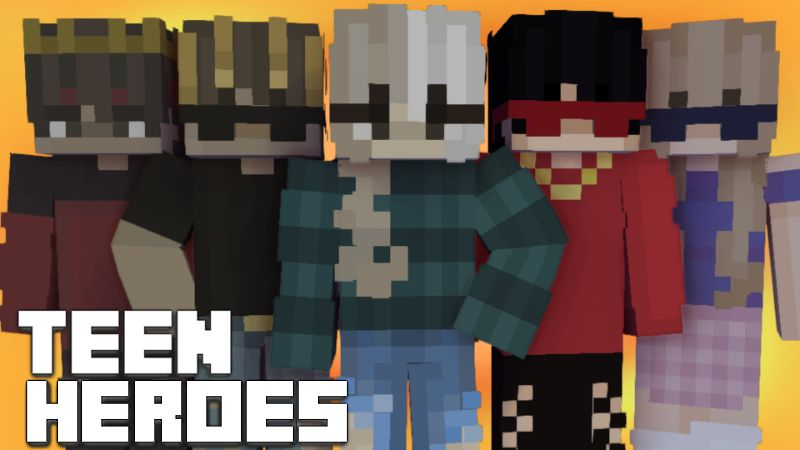 Teen Heroes on the Minecraft Marketplace by Pixelationz Studios